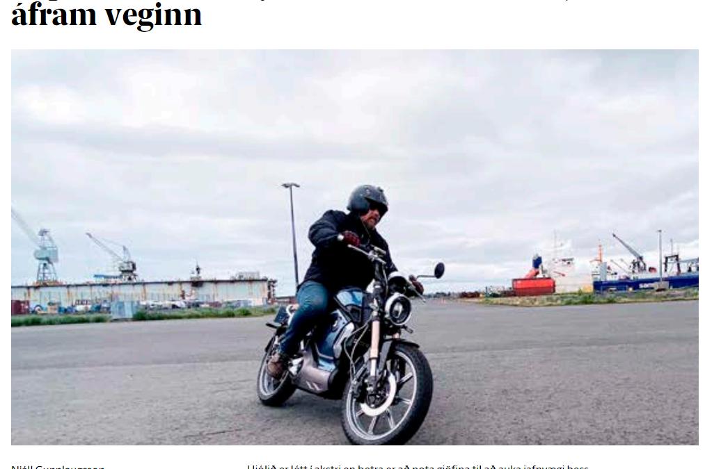 Super Soco TC reynsluakstur – Líður hljóðlaust áfram veginn